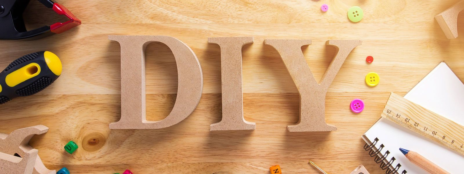 Do it yourself wooden letters